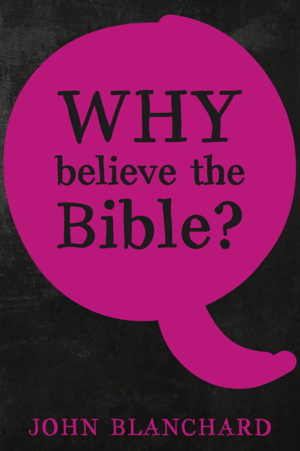 Why believe the Bible 2016